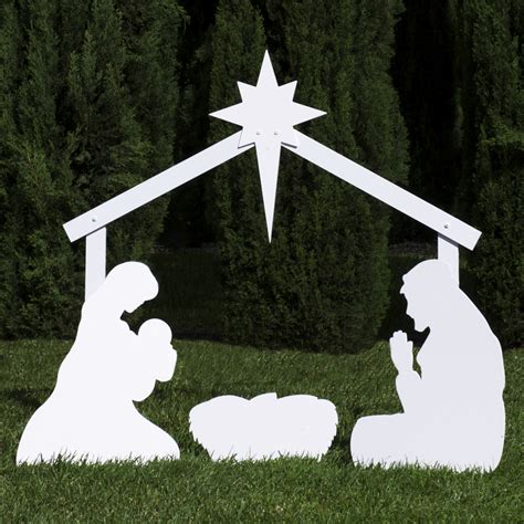 nativity silhouette woodworking patterns nativity silouetter new calendar template site