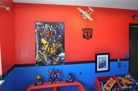 transformers bedroom pin by king on for the home