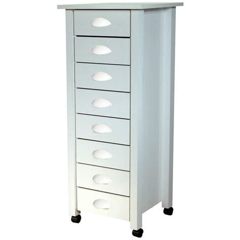 white filing cabinet wood 8 drawer wood mobile filing cabinet in white 4057 11wh