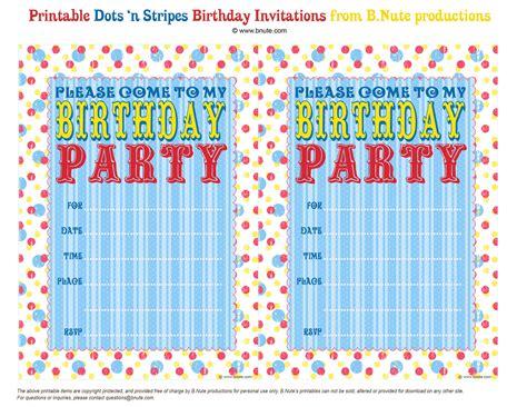 make birthday invitation cards for free printable free printable birthday invitations theruntime
