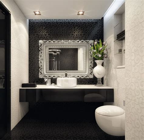 White And Black Bathrooms by Bathroom Design Black And White
