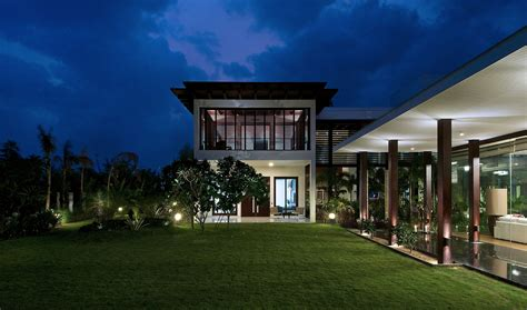 Home Exterior Design India Residence Houses frill house designed by hiren patel architects