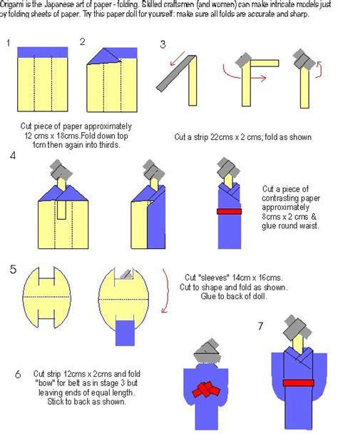 origami doll 17 best ideas about japanese origami on paper