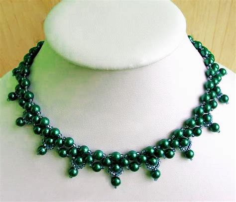 free jewelry patterns free pattern for beaded necklace nataly magic