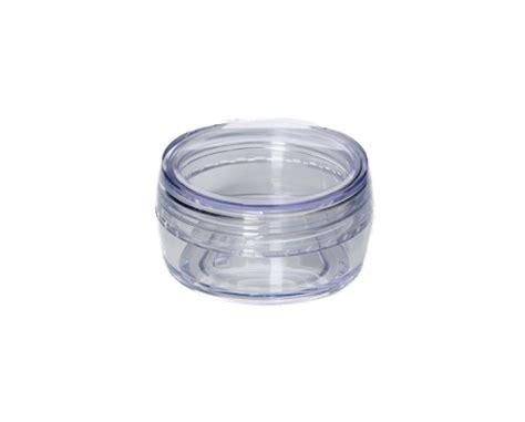 transparent plastic sifter transparent plastic for 30 ml sifter jar make up