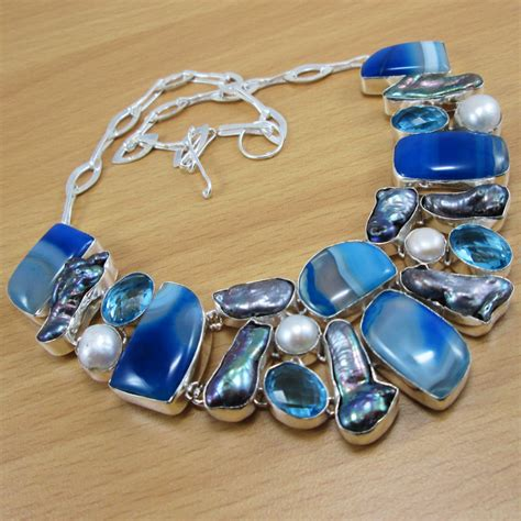 wholesale jewelry wholesale jewelry lace agate pearl 925 sterling silver
