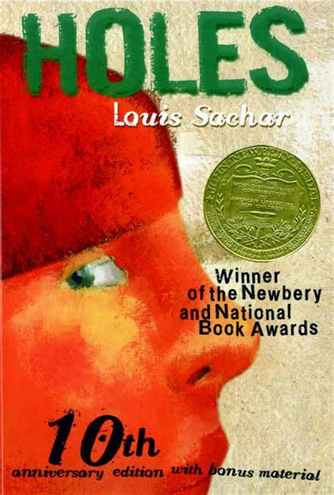 pictures of holes the book top 100 children s novels 6 holes by louis sachar
