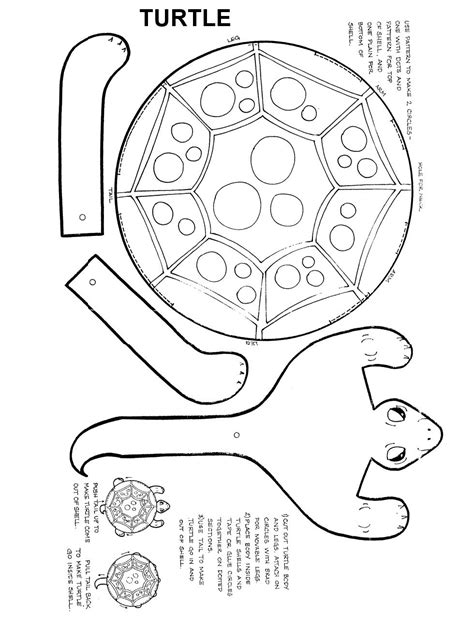 paper plate turtle craft template template for paper plate turtle june preschool