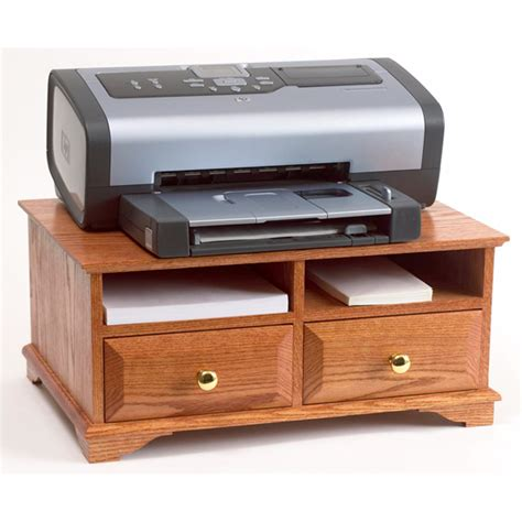 woodworking stand printer stand woodworking plan from wood magazine