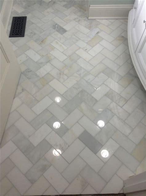 herringbone marble bathroom floor home decor pinterest grey patterns and future house