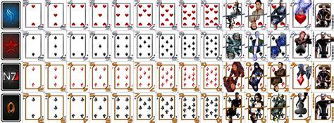 how to make a card deck mass effect card deck file mod db