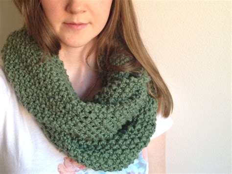beginner knit scarf knit infinity scarf pattern quotes