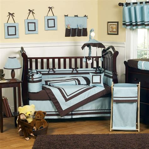 blue and brown nursery decorating ideas baby room beautiful ideas for brown and blue baby nursery