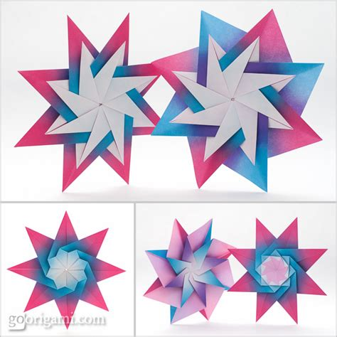 modular origami patterns sided harmony origami paper grimmhobby go origami