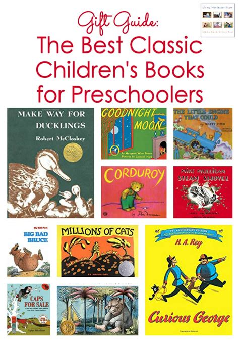 classic picture books for children classic children s books archives living montessori now