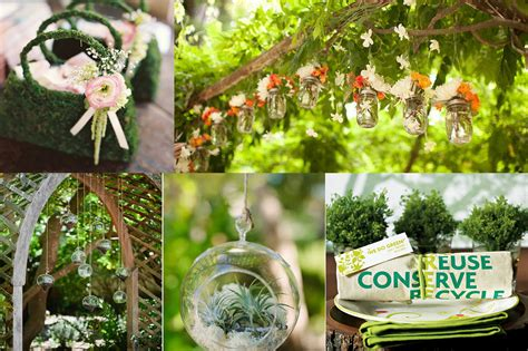 eco decorations eco friendly wedding decor and centrepieces green