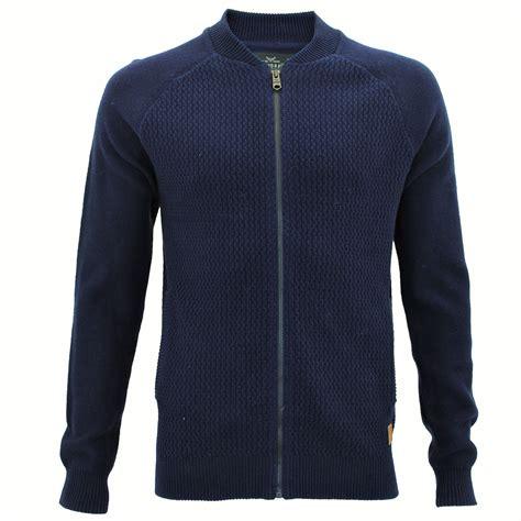 zip up knit sweater mens threadbare varsity collar knitted sweater jumper zip
