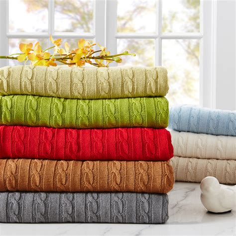 knitted throws for sale sale 100 cotton knitted blankets summer nap blanket