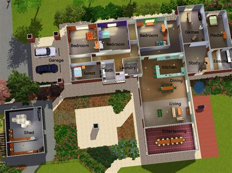 sim house plans mod the sims my real house in sims 3