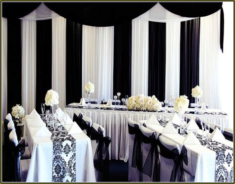 black and white decorations 35 black and white wedding table settings table