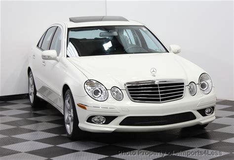 2009 Mercedes E350 4matic by 2009 Used Mercedes E350 4matic Amg Sport At