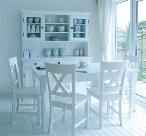 white kitchen tables and chairs sets decoraci 243 n en blanco ideas para acertar blogdecoraciones