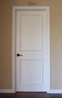 interior panel doors two panel raised door moulding kit traditional