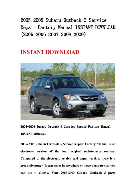 car manuals free online 2006 subaru outback head up display service manual 2007 subaru outback repair manual free 2007 subaru legacy outback factory