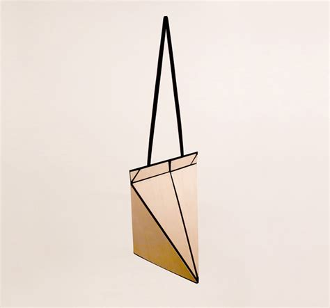 origami bag playful facet origami bag can be folded flat for easy