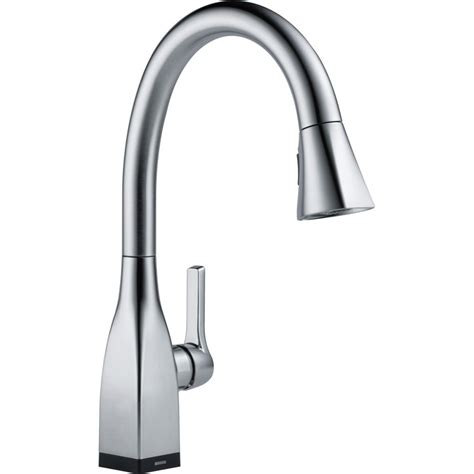 pictures of kitchen faucets delta faucet 9183t ar dst mateo arctic stainless pullout spray kitchen faucets efaucets