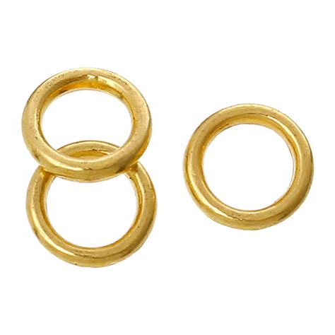 what is a jump ring in jewelry zinc metal alloy closed soldered jump rings circle ring