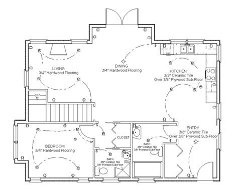how to draw a floor plan of a house draw floor plan step 8 for the home how to