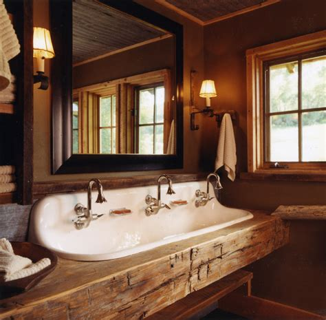 bathroom sink decorating ideas rustic bathroom
