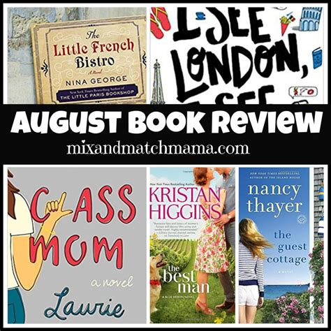pictures of august from the book august book review mix and match
