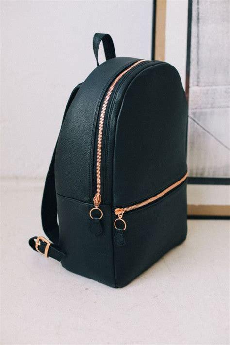black leather backpacks best 20 black leather backpack ideas on