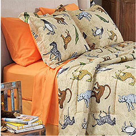 animal bedding jungle safari bedroom decor ideas