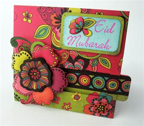 simple eid cards to make card ideas for eid greetings creativecollections