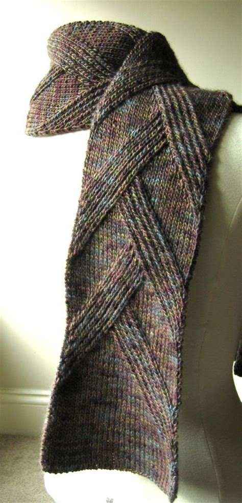 mens knitted scarf patterns great scarf for rippenschal my favourite ribbed