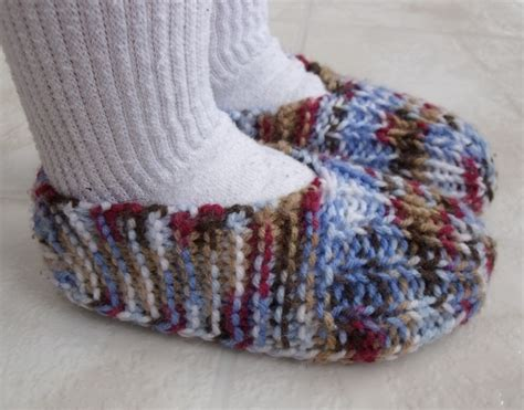 knitted slippers for toddlers kweenbee and me how to knit children s slippers