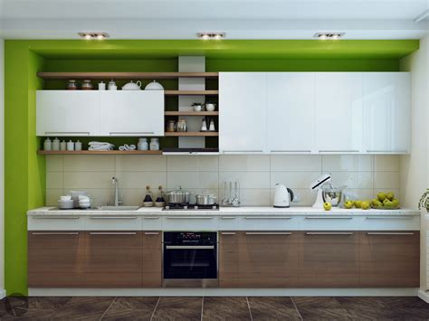 cabinet design for kitchen green white wood kitchen cabinet design olpos design