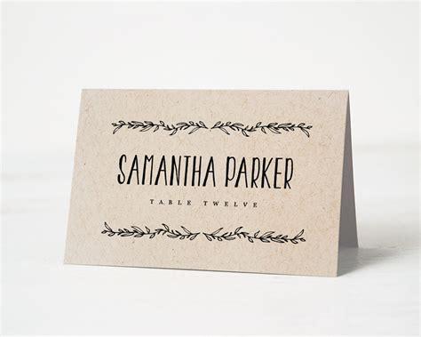 how to make name cards wedding name cards lilbibby
