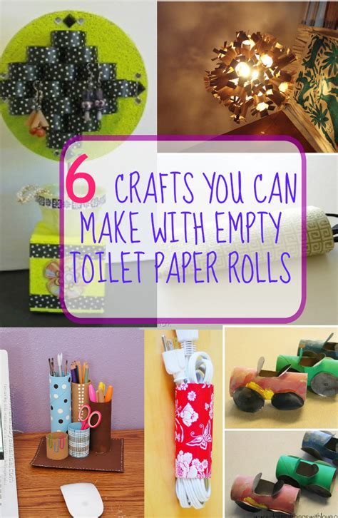 crafts you can make with paper 6 crafts you can make with empty toilet paper rolls