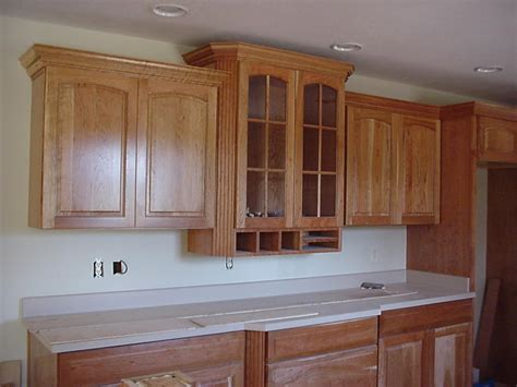 crown molding on kitchen cabinets how to cut crown molding for kitchen cabinets ehow uk
