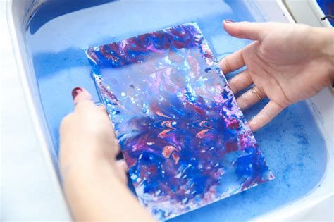 For The Makers Acrylic Paint Marbling