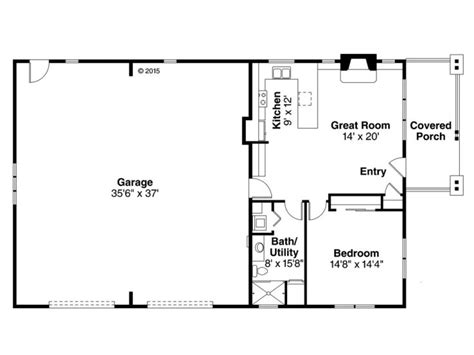 1 bedroom garage apartment floor plans garage apartment plans 1 story garage apartment plan with 2 car garage 051g 0079 at www