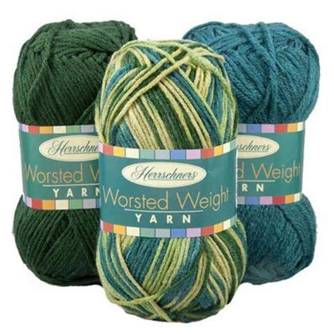 weight yarn herrschners 174 worsted weight yarn
