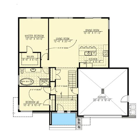split level contemporary house plan 80789pm 1st floor split level home with open layout 90261pd contemporary modern canadian metric narrow lot