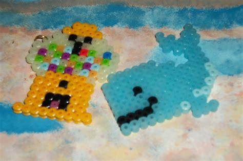 fuse bead creations perler bead creations cupcake