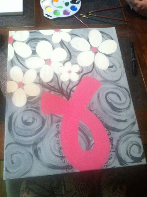 breast cancer craft projects 25 best ideas about breast cancer crafts on