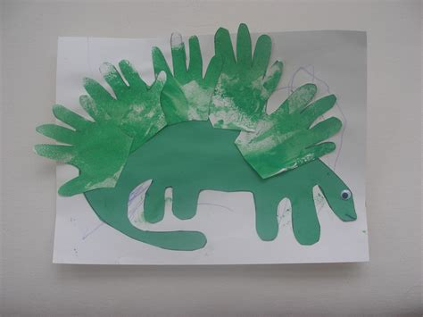 dinosaur crafts preschool crafts for stegosaurus print craft